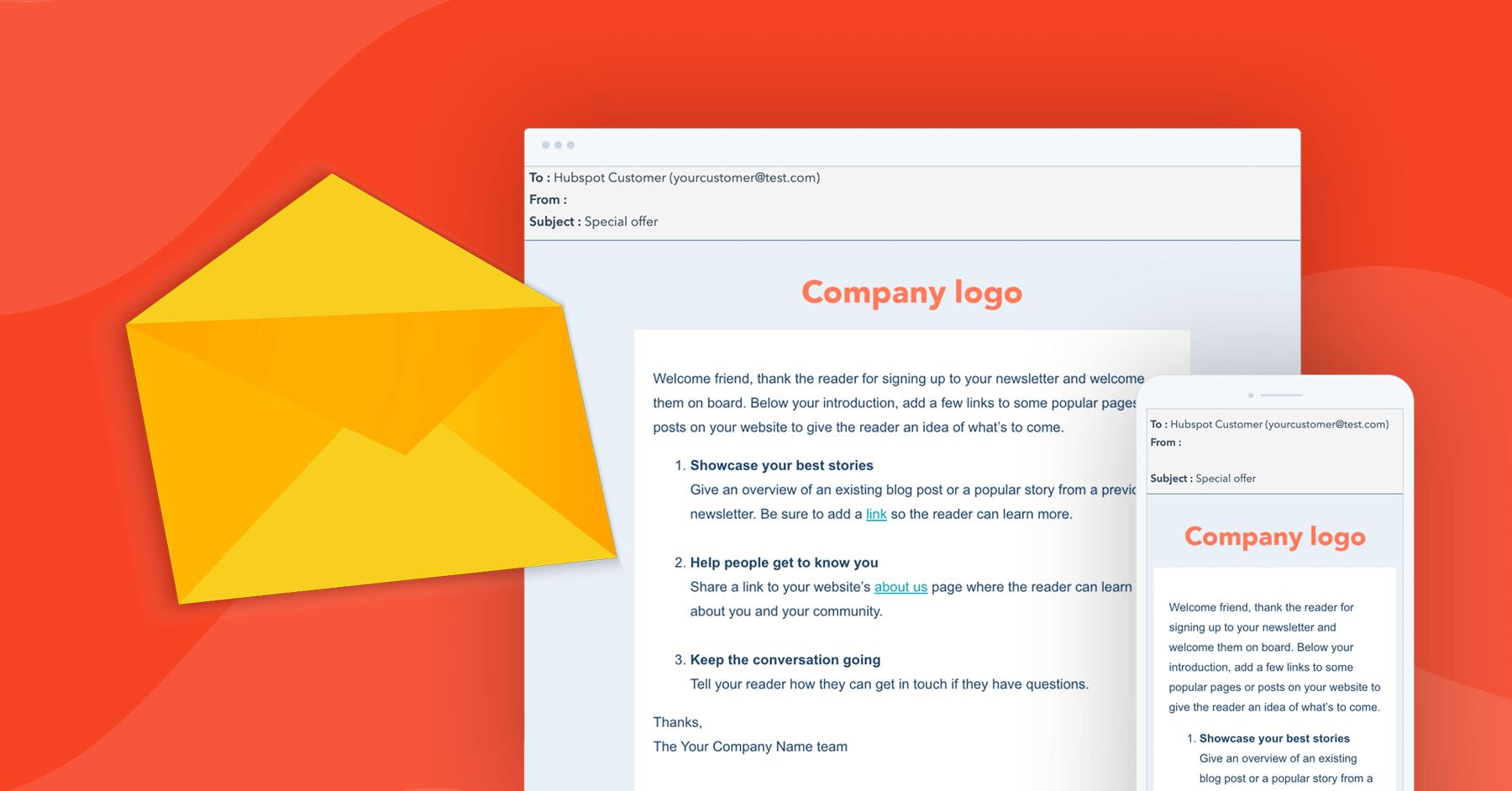 email marketing w HubSpot