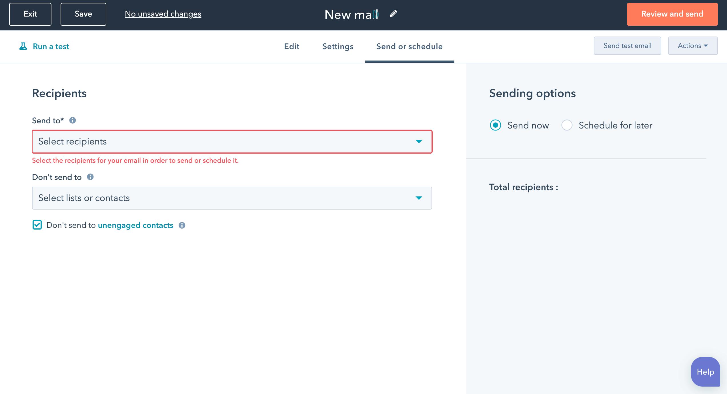 email marketing - zaplanowanie wysyłki maili