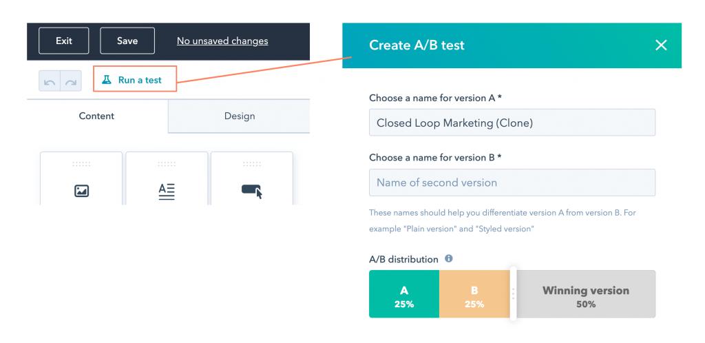 testy A/B kampanii mailowej