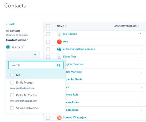 system Crm dla przedstawicieli handlowych - kontakty